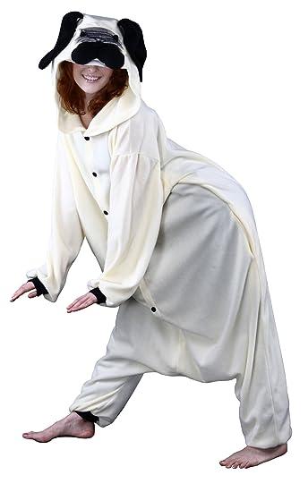 Bcozy Women's Frankie Pug Adult Sized Costumes, Tan/Black, Standard