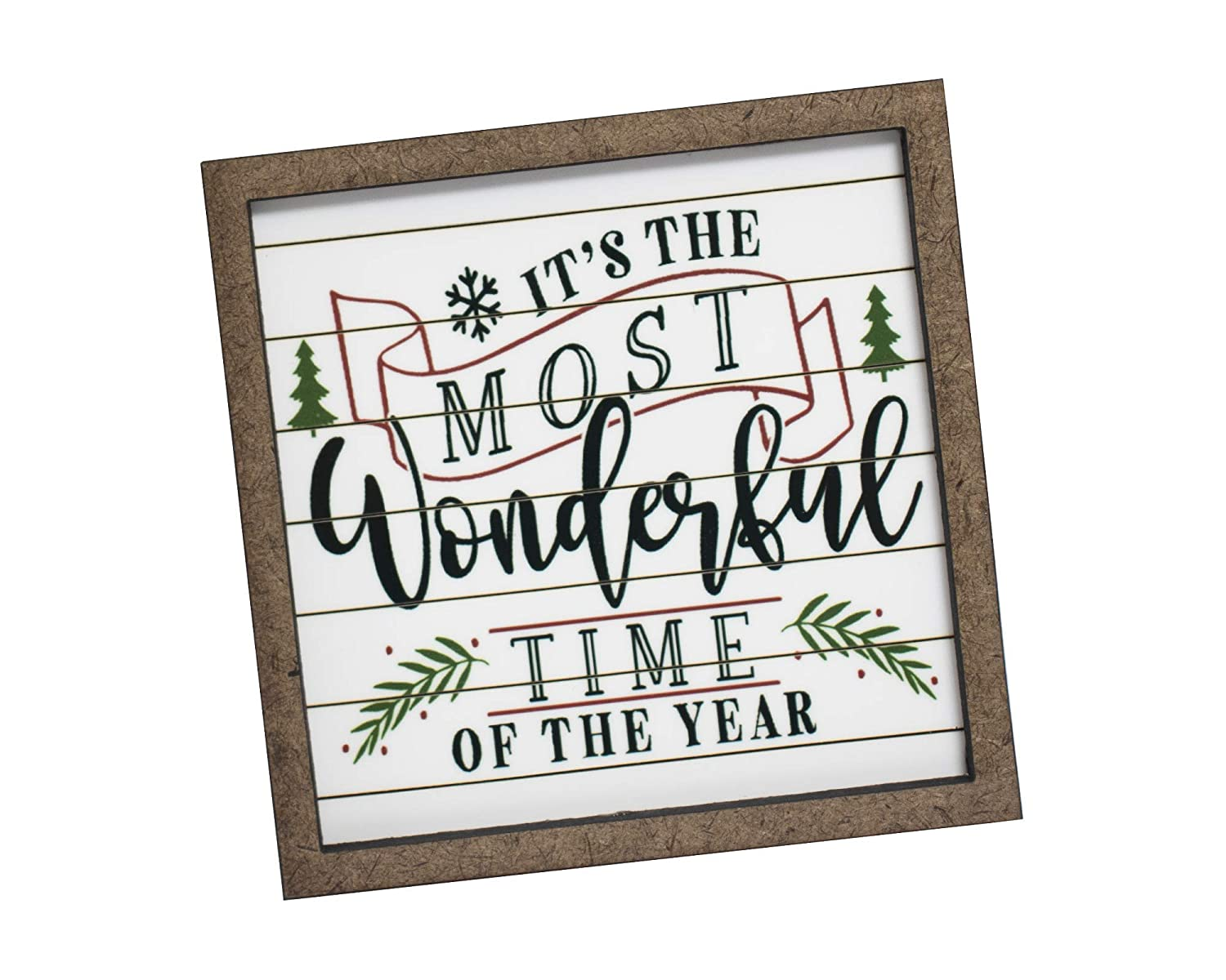 It/'s the most wonderful time of the year SignChristmas SignChristmas Decor