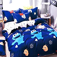 Blenzza Deco® Glace Cotton Cartoon Print Comforter for Single Bed with Attractive Luxury Bag Packing