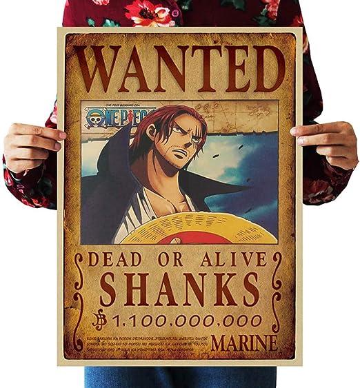 Poster One Piece Luffy Japan Anime Boy Room Club Wall Cloth Print 7