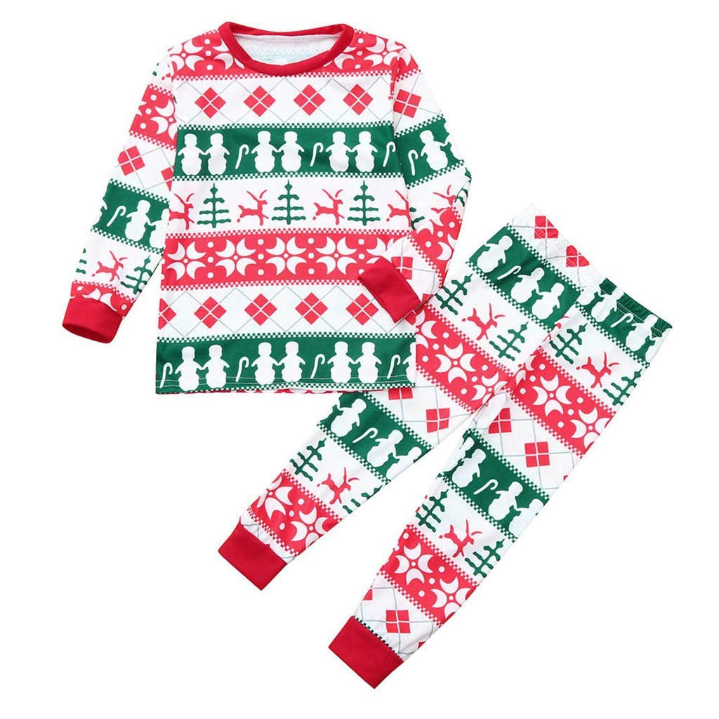 9413219782 Amazon.com  Lurryly❤Family Matching Pjs for Christmas Kids Women T Shirt  Pants Pajamas Sleepwear Outfits  Clothing