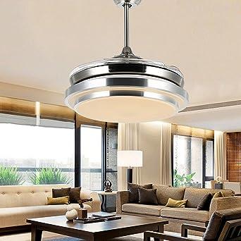 Fantastisch Frelt Kronleuchter Led Fan Lights Automatische Versenkbare Unsichtbare Home  Wohnzimmer Esszimmer Schlafzimmer Lüfter Lichter ( Farbe