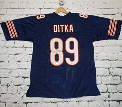 f331c230570 Mike Ditka Signed Autographed Chicago Bears Football Jersey (JSA COA ...