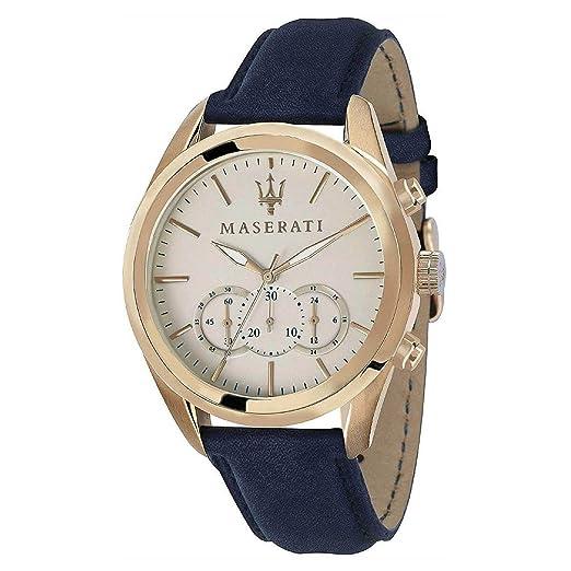 MASERATI TRAGUARDO relojes hombre R8871612016