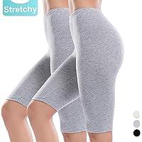 20b9e06f34f Slip Shorts for Women Short Leggings Mid Thigh Legging Plus Size Lace  Undershorts