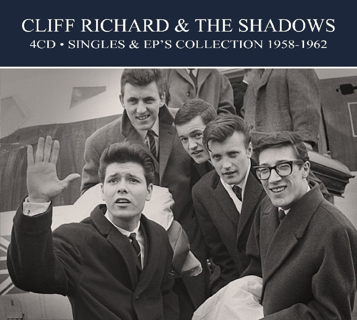 CD : Cliff Richard & the Shadows - Singles & Ep Collection 1958-1962 (Digipack Packaging, Germany - Import)