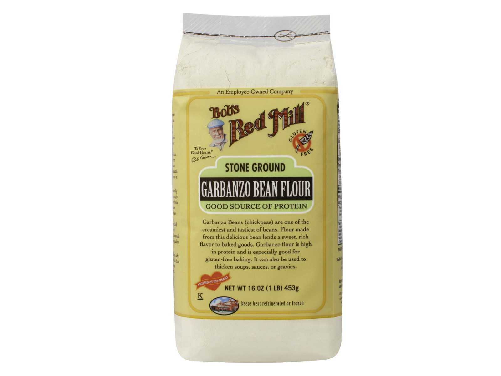 Garbanzo Bean Flour (Case of 4) 16 oz
