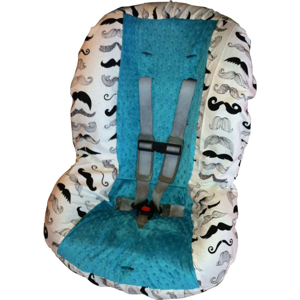 Groovy Amazon Com Wheres My Stache Toddler Car Seat Cover Car Dailytribune Chair Design For Home Dailytribuneorg