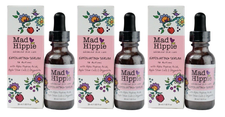 Mad Hippie Skin Care Exfoliating Serum 1.02oz (Set of 3)