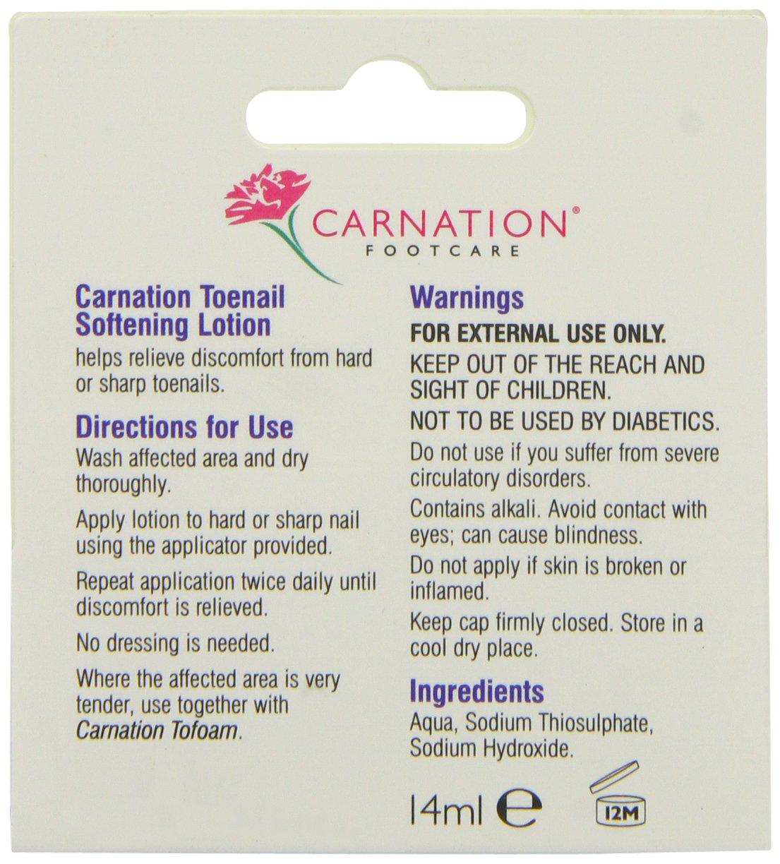 CARNATION Toenail Softening Lotion, 14 ml Cuxson Gerrard (Consumer) 3453206