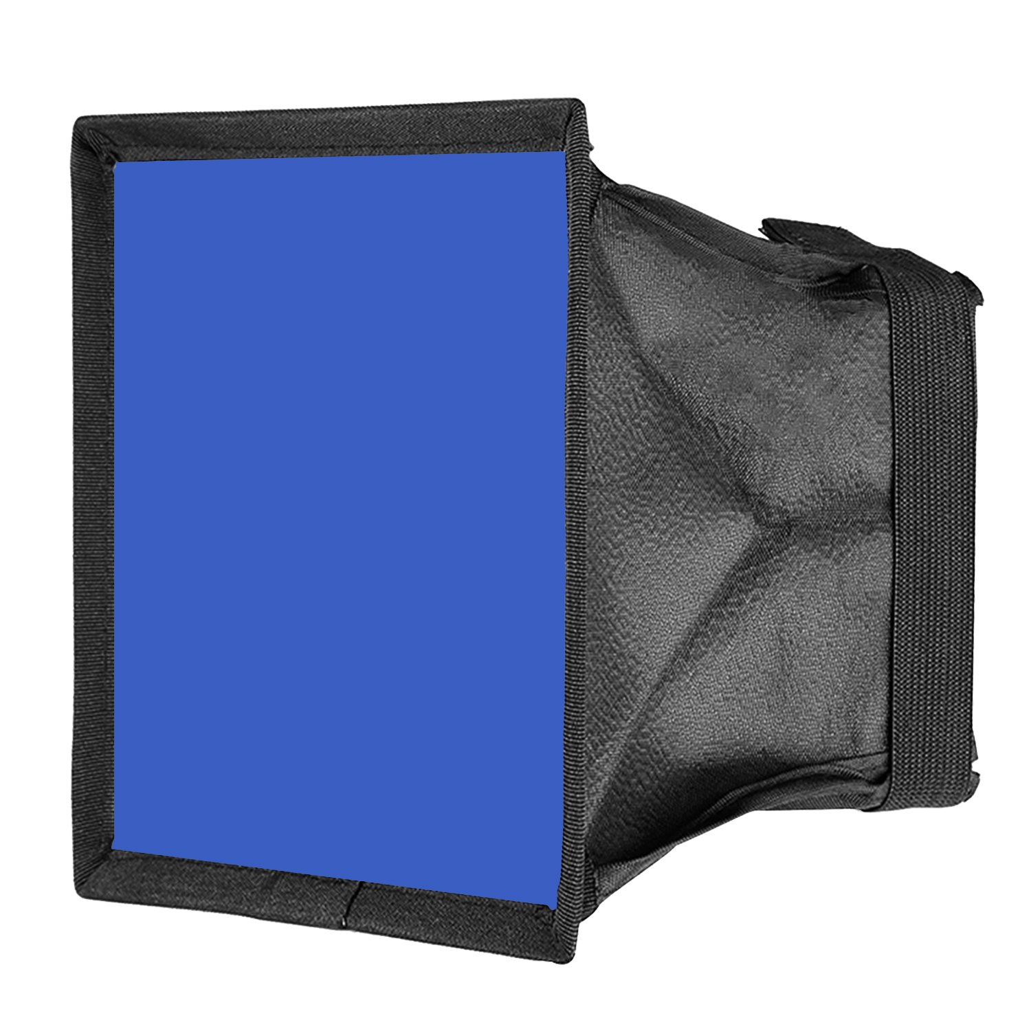 Neewer 5.9x6.7 inches/15x17 Centimeters Camera Collapsible Diffuser Mini Softbox for CN-160, CN-126 and CN-216 LED Light (Blue) by Neewer