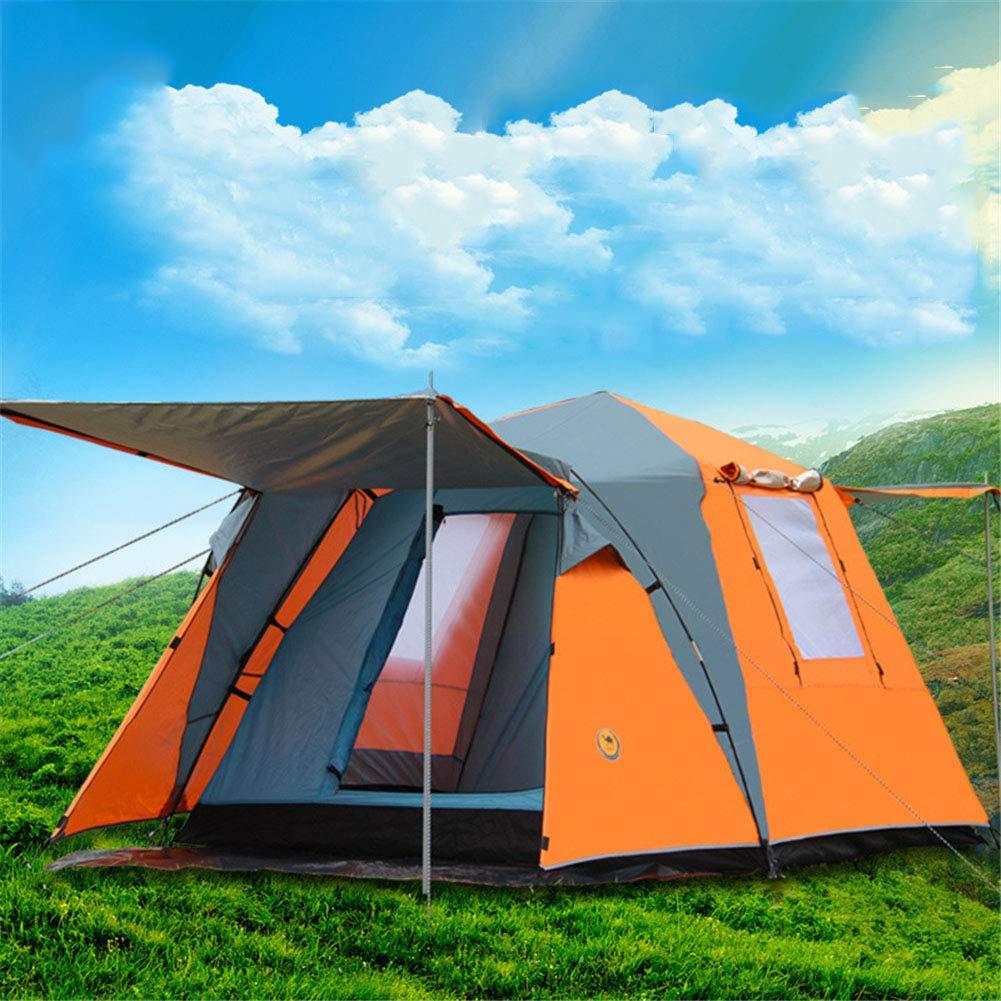 Spacious,Anti-UVテント、3-4 人屋外家族のテント防風防雨通気性1部屋ダブルレイヤーキャンピングビーチテント210×210×145,A,210*210*145 210*210*145 A B07PCQCNHR