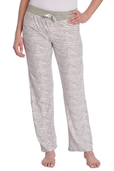 a2657089b1 Wanted Women's Lightweight Ultra Soft Stretch Printed Pajama Pant