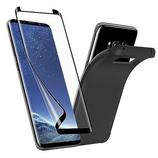 2 opinioni per [Abito] PET Pellicola protettiva Galaxy S8+, SPARIN PET Pellicola protettiva