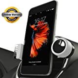 Amazon Price History for:SALE - Luxury Car Cell Phone Mount Holder For Air Vents, 360° Rotation Fits All Smartphones Including iPhone X, 8, 7 | 7/8 Plus, 6, 6S, 5, 5S | 6 Plus, 6S Plus | Galaxy S6, S7, S7 Edge, S8, Note 7