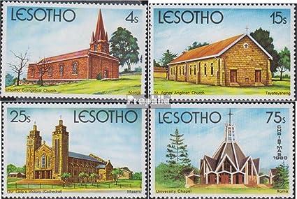 WHO Briefmarken f/ür Sammler Prophila Collection Lesotho 128-130,131 1972 Weihnachten Gesundheit kompl.Ausg.