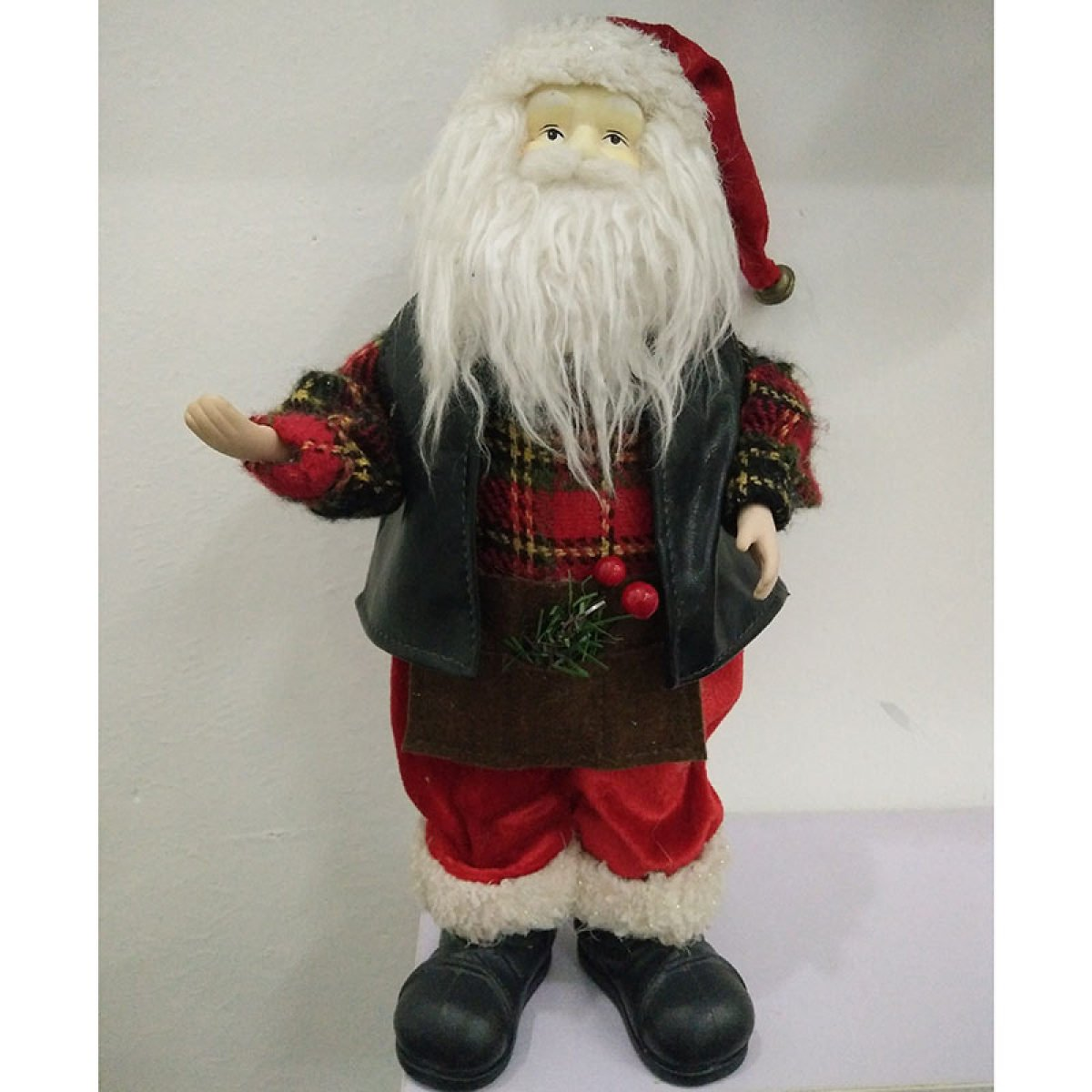 GAOQIANG Santa Claus Doll Plush Toy Doll Gift Decoration Holiday Christmas Gift Niña De Los Niños