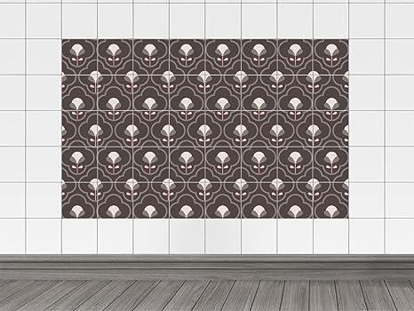 Piastrelle immagini piastrelle adesivo per bagno motivo floreale