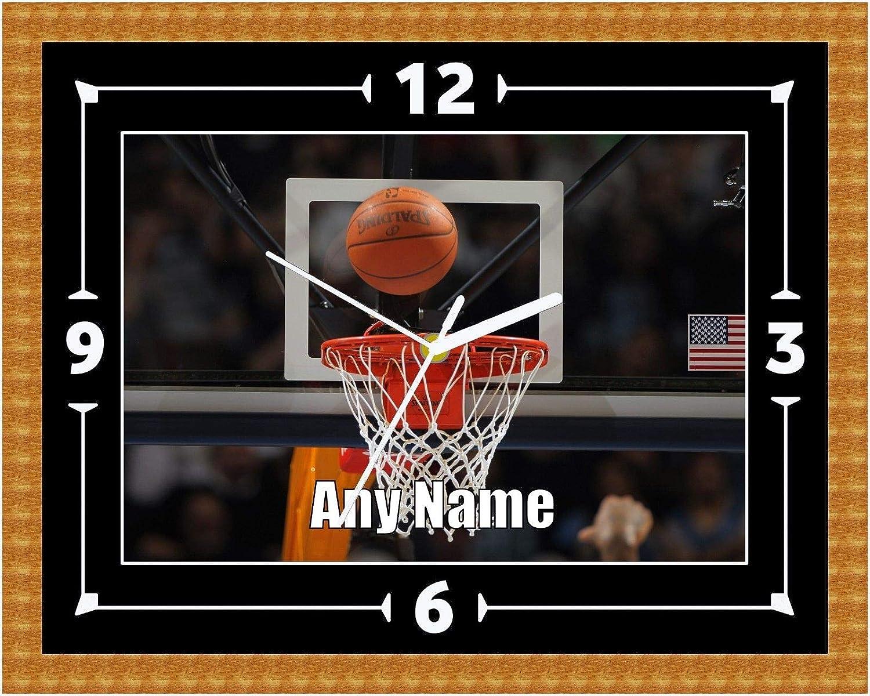 LIUXIAOJIE Baloncesto NBA Reloj de Pared Regalo Regalo Navidad ...