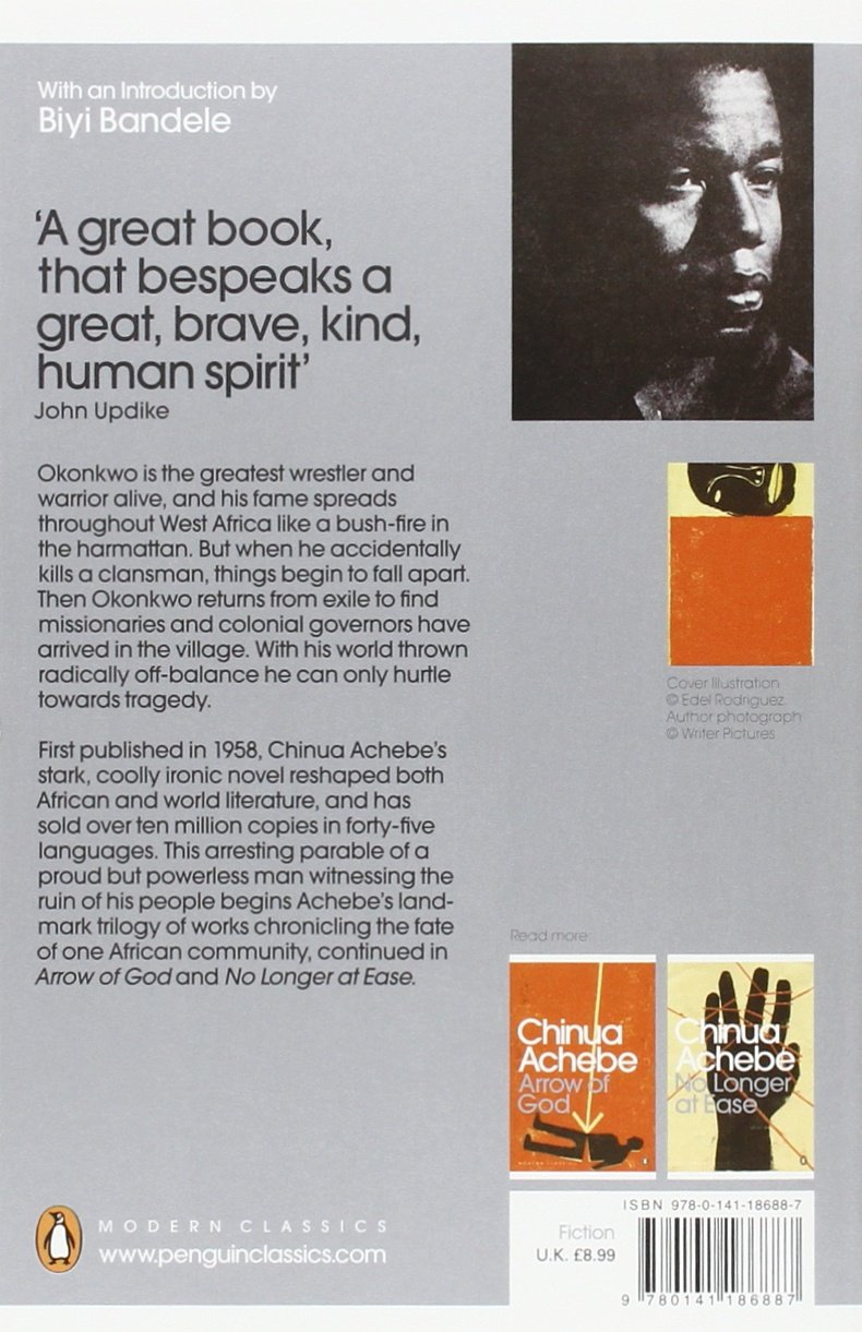 things fall apart penguin modern classics amazon co uk chinua things fall apart penguin modern classics amazon co uk chinua achebe biyi bandele 9780141186887 books