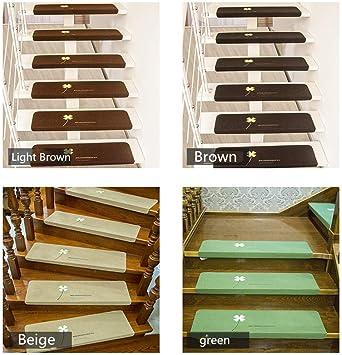 LWGY - Alfombrillas Autoadhesivas de PVC para escaleras (5 Unidades): Amazon.es: Hogar