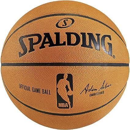 Spalding NBA Game Réplica Balón de baloncesto, naranja: Amazon.es ...