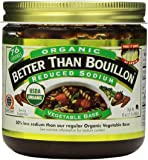Better Than Bouillon Organic Vegetable Base 16 Oz, Reduced Sodium