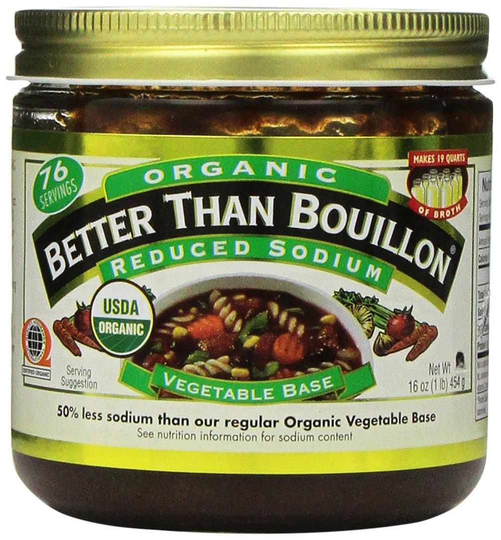 Better Than Bouillon Organic Vegetable Base 16 Oz, Reduced Sodium