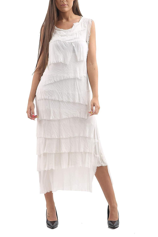 NEW Womens Italian Lagenlook Plain Silk Ladies Maxi Long Skirt One Size