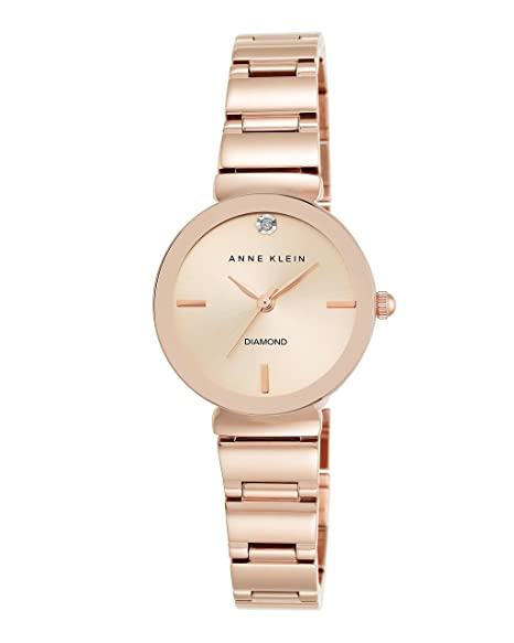 66d6d359344d Anne Klein AK 2434RGRG - Reloj de pulsera para mujer