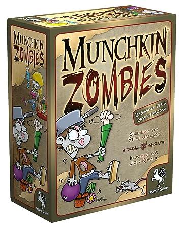 Pegasus Spiele 17138G - Munchkin Zombies 1+2: Amazon.de: Spielzeug