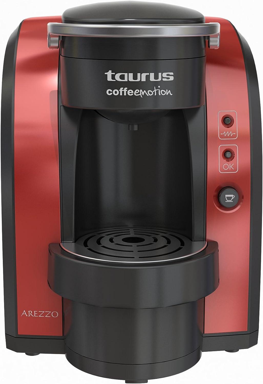 Taurus Arezzo, Negro, Rojo, 1150 W, 220 - Máquina de café: Amazon ...