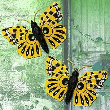 Garden Wall Decorations colourful Butterfly design, Wall Art ...