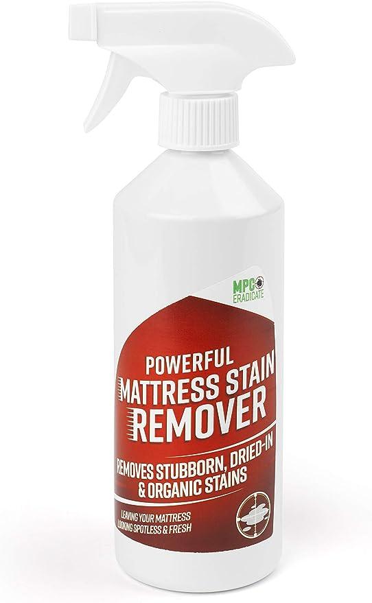 Potente quitamanchas para colchón: orina, vómito, sangre, heces... ambientador y limpiador, MPC Erradicate: Amazon.es: Hogar