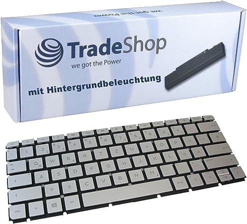 Teclado Original con retroiluminación QWERTZ alemán para HP ...