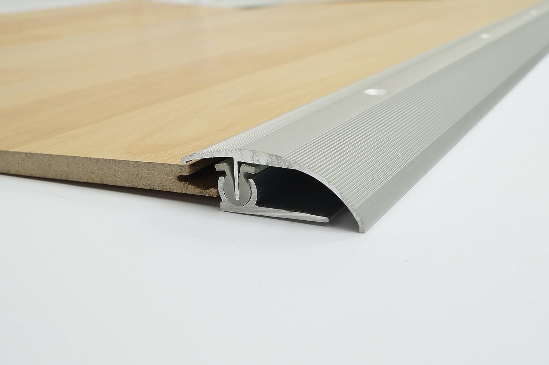 Inklusive Montagematerial Oberfl/ächen Dalsys Parkett Laminat Ausgleichprofil /Übergangsprofil 44 x 900 mm versch