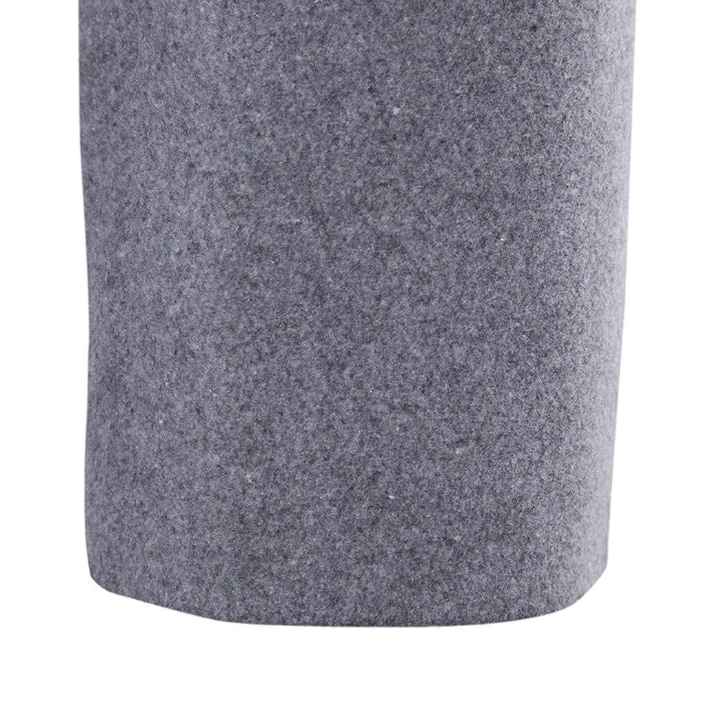 Men Jacket Casual Blazer Winter Irregular Solid Color Button Long Sleeve Outwear Tops Blouse Windbreaker Warm Coat