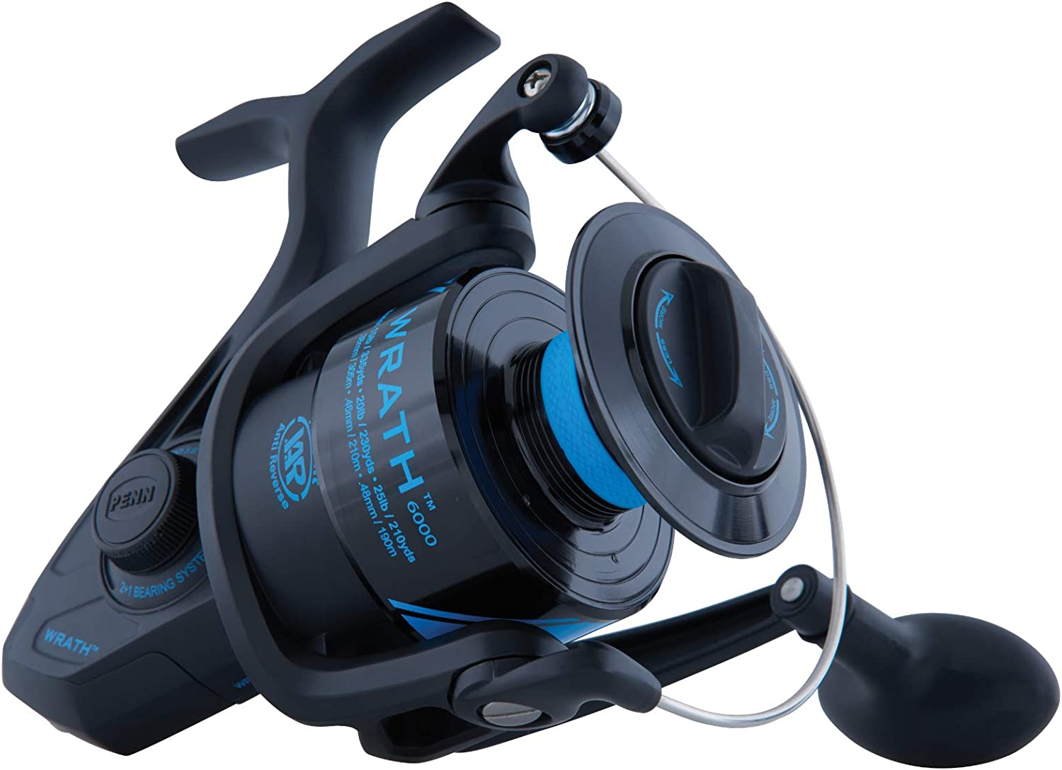 Penn Wrath Spinning Fishing Reel WRTH 6000 C