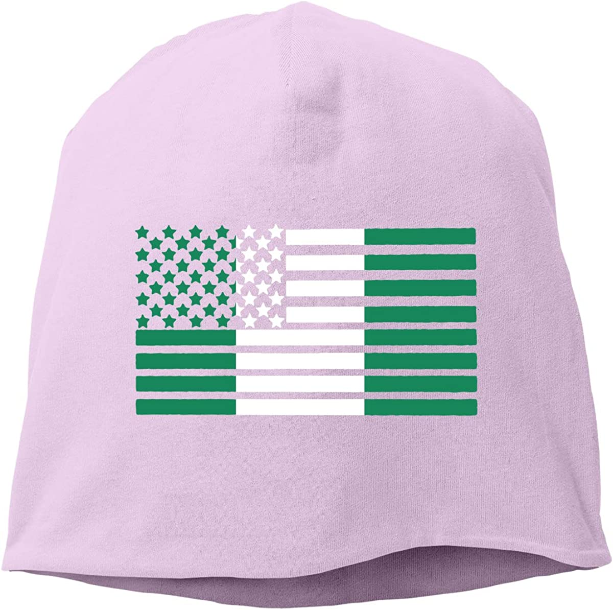 AZXGGV Men Women Nigerian Flag Map Soft Knit Hats