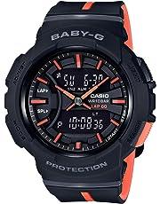 Casio Baby-G BGA-240 Two-Tone Series Black Orange Watch BGA240L-1A