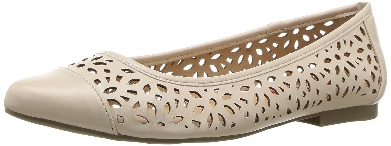 UNIONBAY Women's Willis Pointed Toe Flat B01M31J3T3 9.5 B(M) US|Beige
