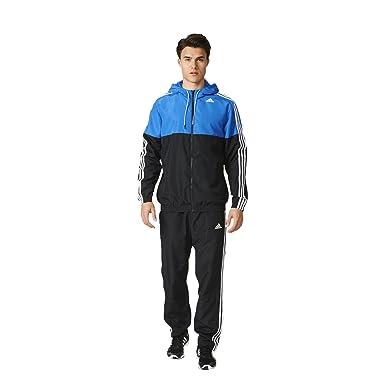adidas TS Train WV Chandal, Hombre, Negro/Azul, XL: Amazon.es ...