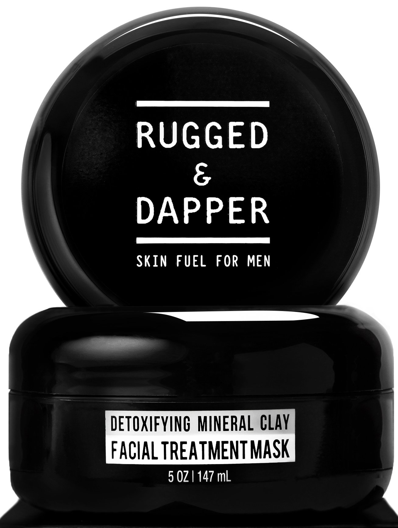 All-In-One Essential Skincare Set For Men - Grooming Kit - Age + Damage Defense Facial Moisturizer - Daily Power Scrub Cleanser - Detox Mineral Clay Facial Mask - Natural & Certified Organic by RUGGED & DAPPER (Image #6)