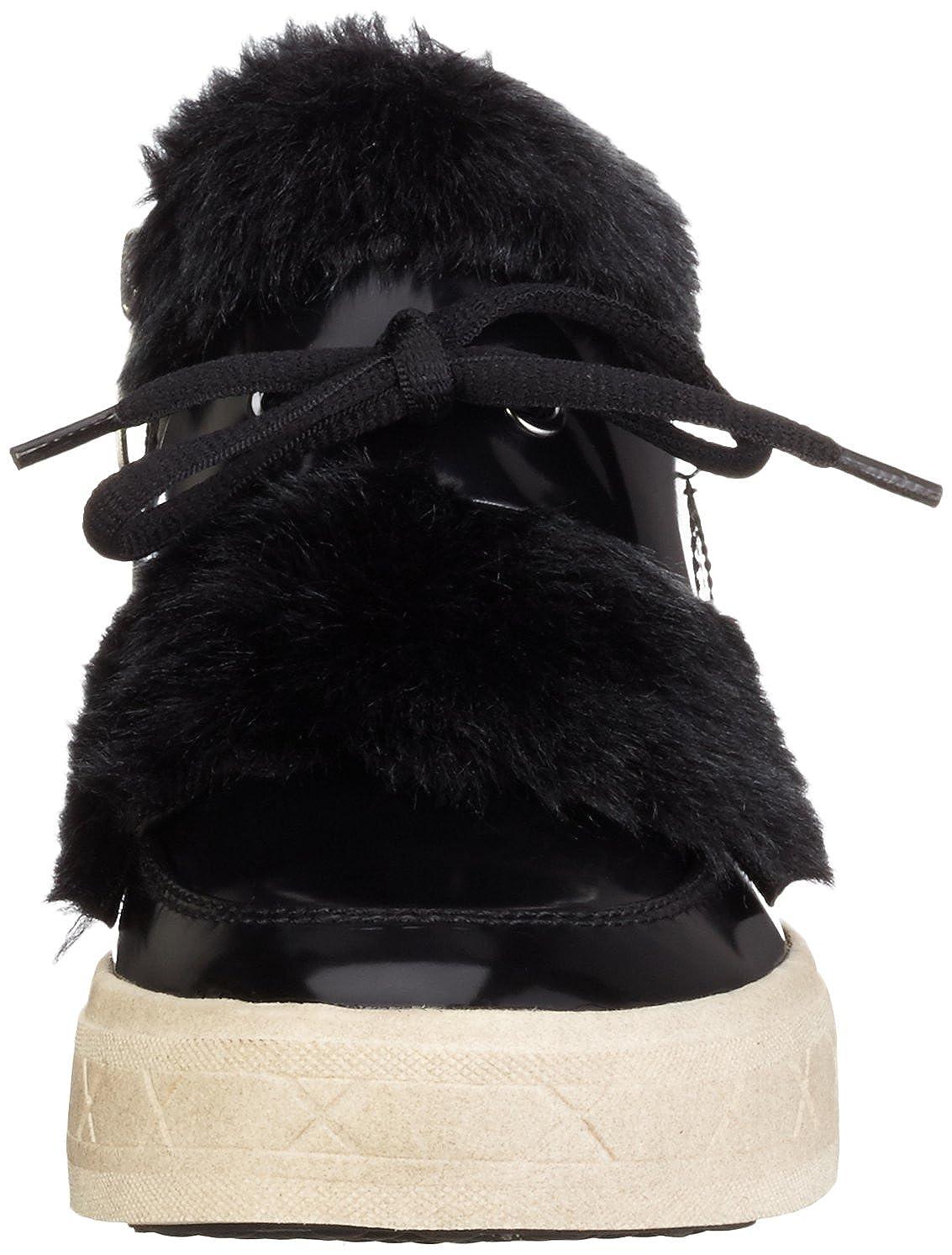 Tamaris Women's 25058 Hi Top Sneakers, Black, 3 UK