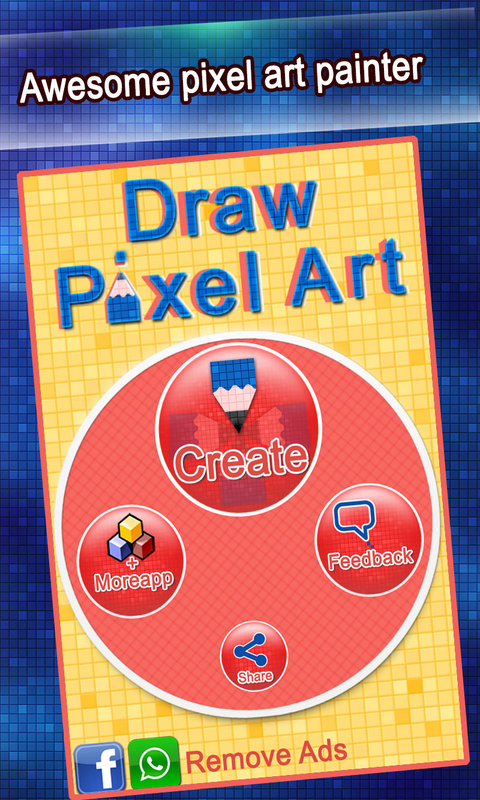 Touch Painting Draw Pixel Art