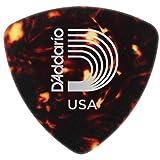Planet Waves Shell-Color Celluloid Guitar Picks, 10 pack, Medium, Wide Shape