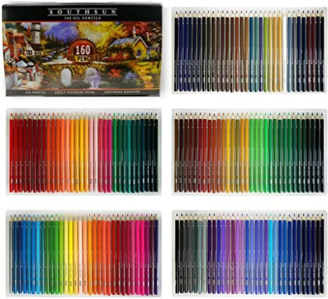 12 Pk Intense Colour Metallic Artist Colouring Pencils Assorted Colours Art Draw
