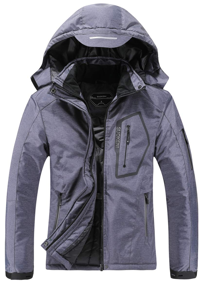 Women's Waterproof Ski Jacket Warm Winter Snow Coat Hooded Raincoat