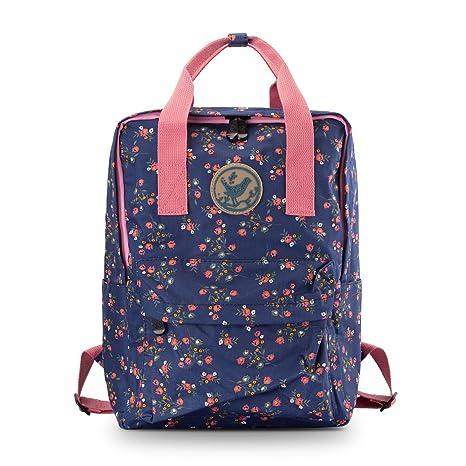e57a6f097028 Amazon.com: JAMMYLIZARD Cute Canvas Backpack Handbag Lightweight ...