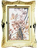 Cream Distressed Ornate Photo Frame 6x4 Inches (6x4)